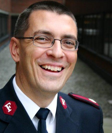 Jan Risan, Major i Frelsesarmeen